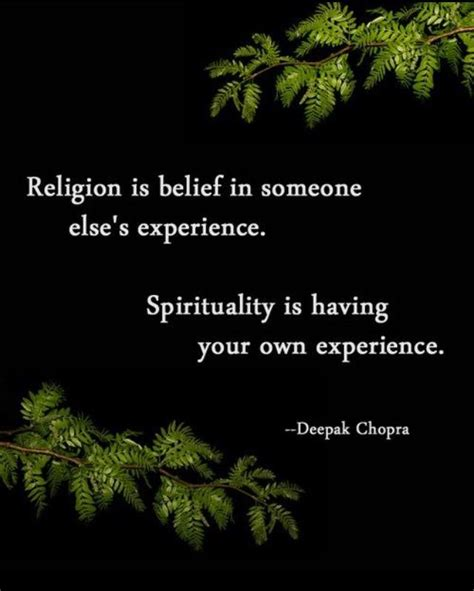 Nana Podungge's Simple Thought Religion Versus Spirituality