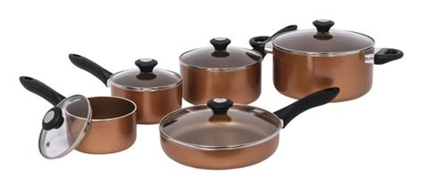 lagostina ticino copper  stick cookset  pc canadian tire