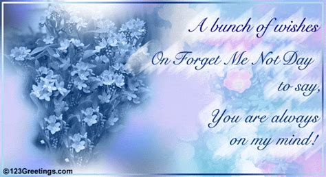 bunch  wishes  forget   day ecards