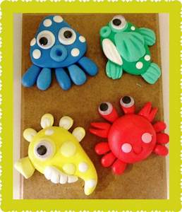 73 best images about fondant sea creatures on Pinterest ...