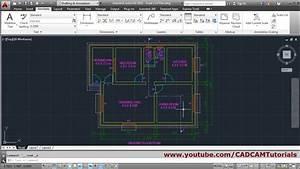 Autocad Floor Plan Tutorial For Beginners - 6