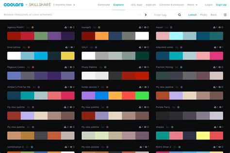 website  mencari kombinasi warna keren urbandigital