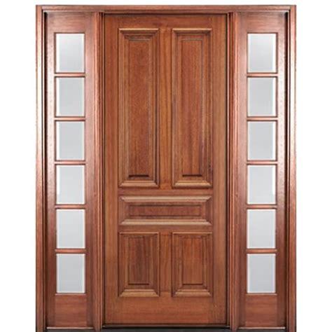 Mai Doors Dlt811ap12 5panel Mahogany Entry Door With