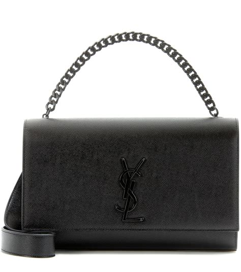 saint laurent classic medium kate monogram leather