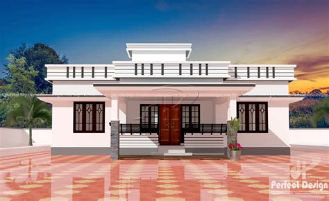 Cute and stylish contemporary home – Kerala Home Design