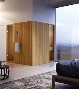 Holz Für Sauna : sauna f r ein modernes bad aus holz innovativ und funktional idfdesign ~ Eleganceandgraceweddings.com Haus und Dekorationen