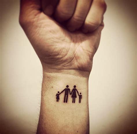 family tattoo daughterdadmomson tattoo pinterest