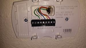 Goodman Heat Pump Thermostat Wiring Diagram To Honeywell 5000 8 Wire Thermostat