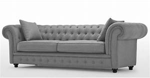 Sofa Chesterfield Style : branagh 3 seater grey chesterfield sofa ~ Cokemachineaccidents.com Haus und Dekorationen