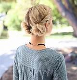 Hair simple style teen