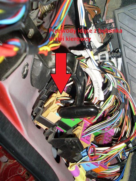 montaż centraki pilota z domykaniem szyb do oryginalnego zamka w audi a4 b5 98r