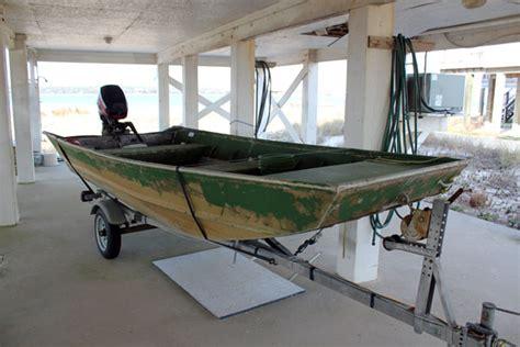 Wide 12 Foot Jon Boat by 14 Lowe X Wide Aluminum Jon Boat W 2000 15hp Mercury 4