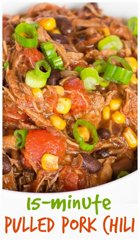 Pork and mushroom soup, ingredients: Leftover Pork Chili Recipe - The Weary Chef
