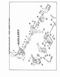 Craftsman 315109240 User Manual 7 1  4 In  Circular Saw