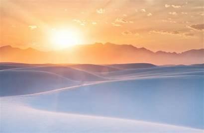 Sunset Desert Sands Mexico 8k 4k Wallpapers