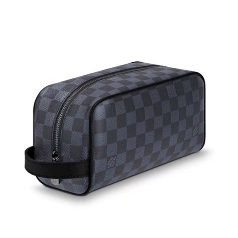 louis vuitton bags washbag damier leather cobalt men poshmark