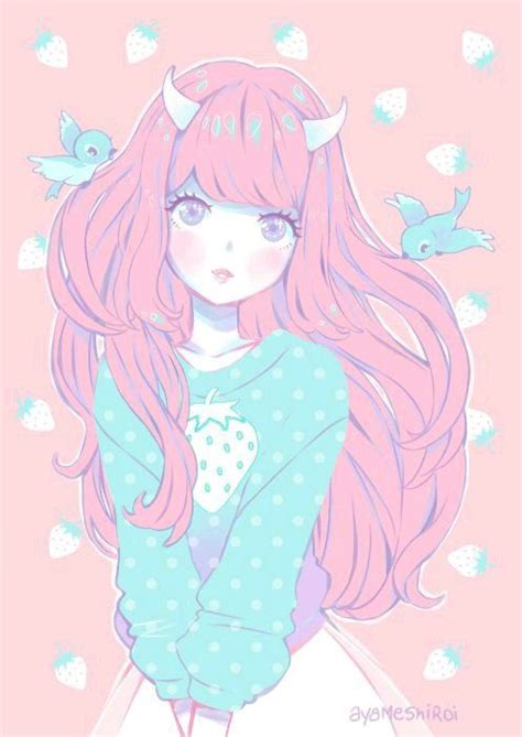 Wallpaper Kawaii Anime - 180 wallpaper kawaii pesquisa pastel