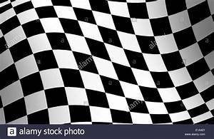 Checkered racing flag, wavy checker flag pattern Stock ...