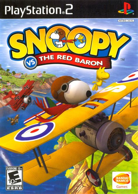 snoopy   red baron  playstation   mobygames