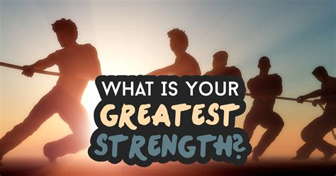 What Is Your Greatest Strength? - Quiz - Quizony.com