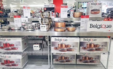 belgique  pc cookware sets    macys reg   krazy coupon lady