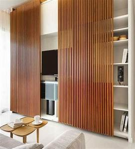 Tv Wandpaneel Holz : 33 moderne tv wandpaneel designs und modelle wohnung pinterest wohnzimmer m bel und schrank ~ Markanthonyermac.com Haus und Dekorationen
