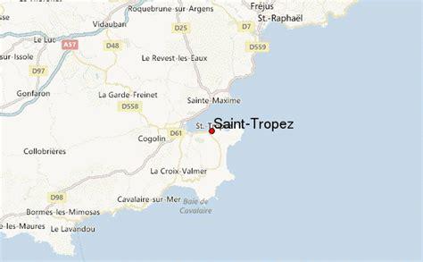 Carte Tropez by Guide Urbain De Tropez