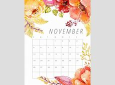 November 2017 Calendar Cute 2018 calendar with holidays