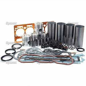 Massey Ferguson Basic Engine Overhaul Kit W  Perkins A4 203 Mf 165 255 65  40b