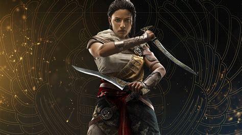 Assassins Creed Wallpaper 4k Assassins Creed Origins Aya Uhd 8k Wallpaper Pixelz