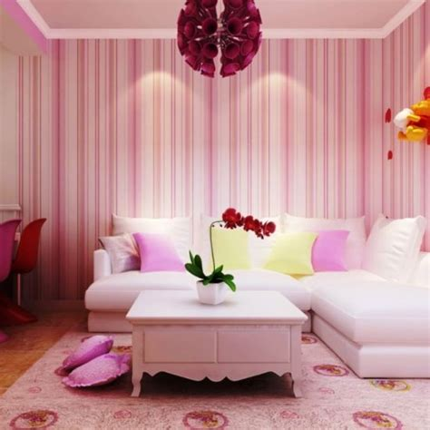 top  living rooms  striped walls ultimate home ideas
