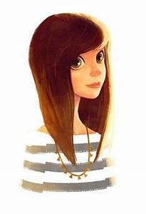 Stunning girl illustration. blonde girl, red , green eyes ...