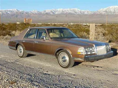 how to sell used cars 1985 lincoln continental navigation system 1985 to 1987 lincoln continental for sale on classiccars com