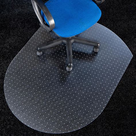 polycarbonate chair mat for carpet floors oval