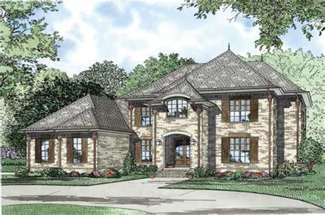 Luxury European House Plans