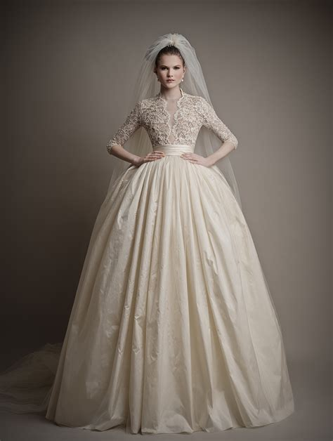 glamorous elegant wedding dresses from ersa atelier