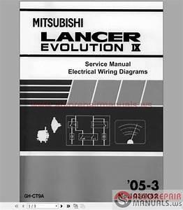 Mitsubishi Lancer Evo Ix 2005 Workshop Manual Supplement