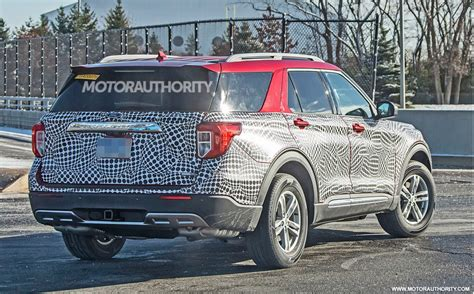 ford explorer spy shots  video