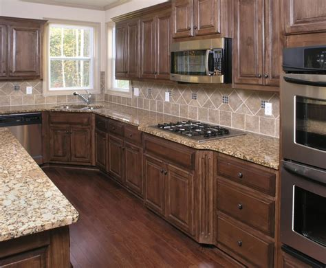 kitchen color ideas with brown cabinets floors and cabinets for the home 9190