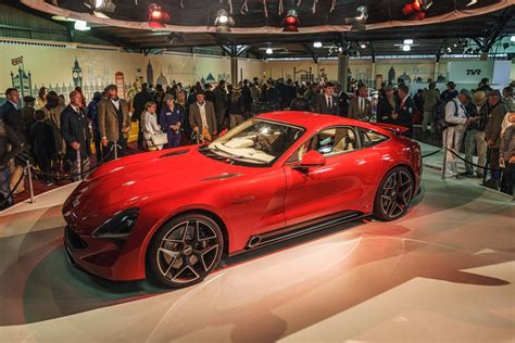 Tvr To Showcase Stunning New Griffith Sports Car At London