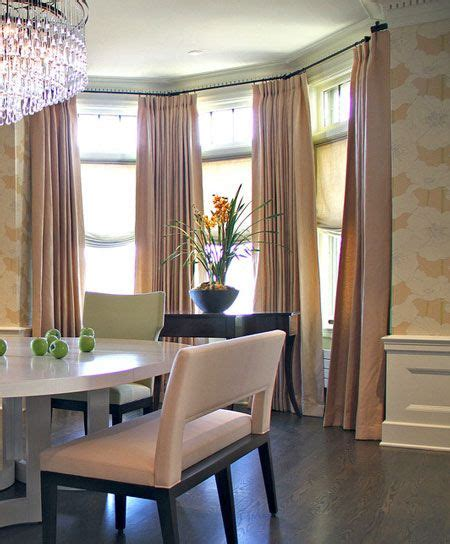 Drapes For Bay Window - 1000 ideas about cheap window treatments on