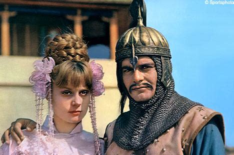 françoise dorléac films 1965 quot genghis khan quot dirigida por henry levin teatro