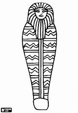 Drawing Egypt Ancient Egyptian Coloring Coffin Casket Pages Mummy Sarcophagus Clipartmag sketch template