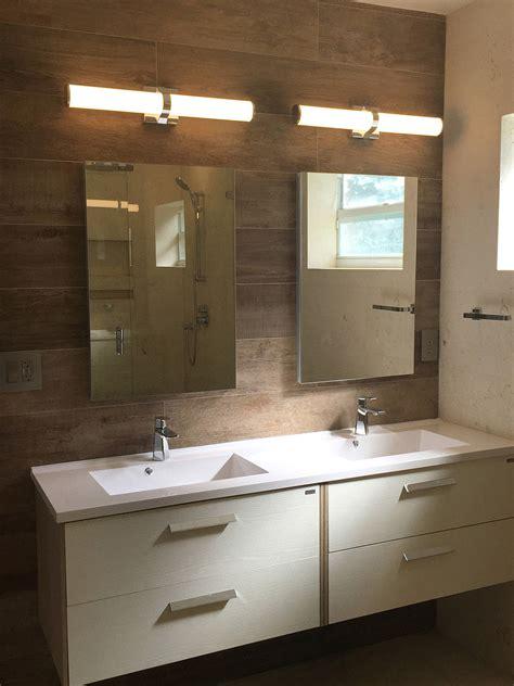 floating vanity master bathroom remodel miami general