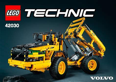 lego technic 42030 lego remote controlled volvo l350f wheel load 42030 technic
