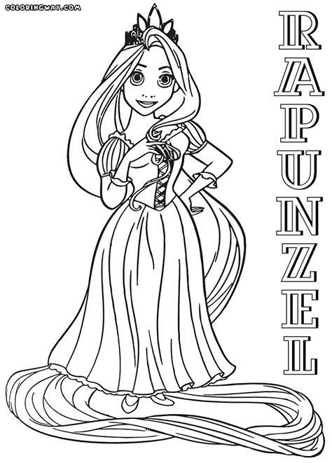 rapunzel coloring pages coloring pages    print