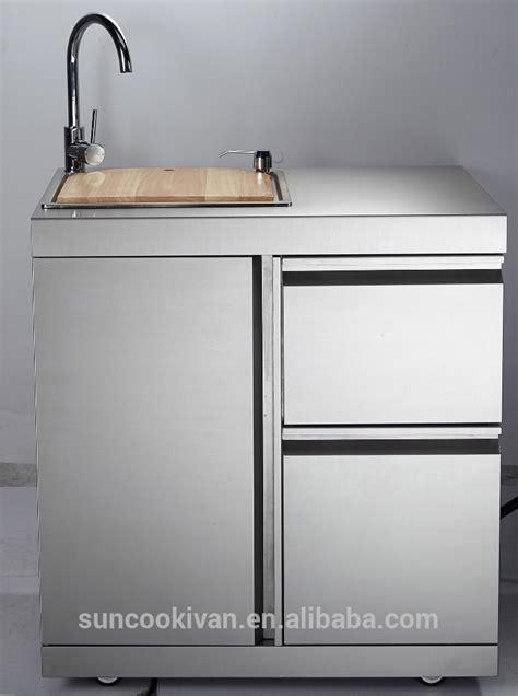 outdoor kitchen sink and cabinet stainless steel outdoor sink cabinet with stainless steel 7244