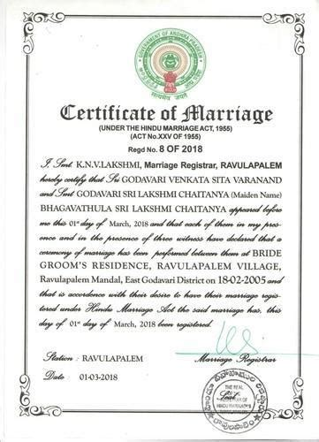 Z News How To Register How To Apply For Marriage Certificate In India Your