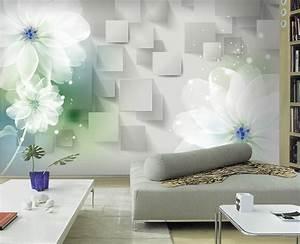 3d stereoscopic minimalist modern bedroom living room sofa ...