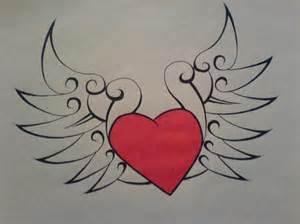 Fancy Heart Drawings